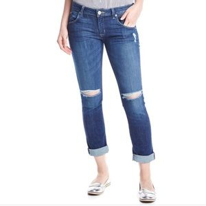 Hudson Bacara Straight Crop Distressed Jeans - 27